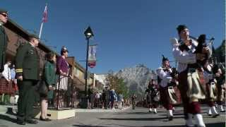 RMNACSTC Freedom of the Town Banff, Alberta, 4 Aug 2012