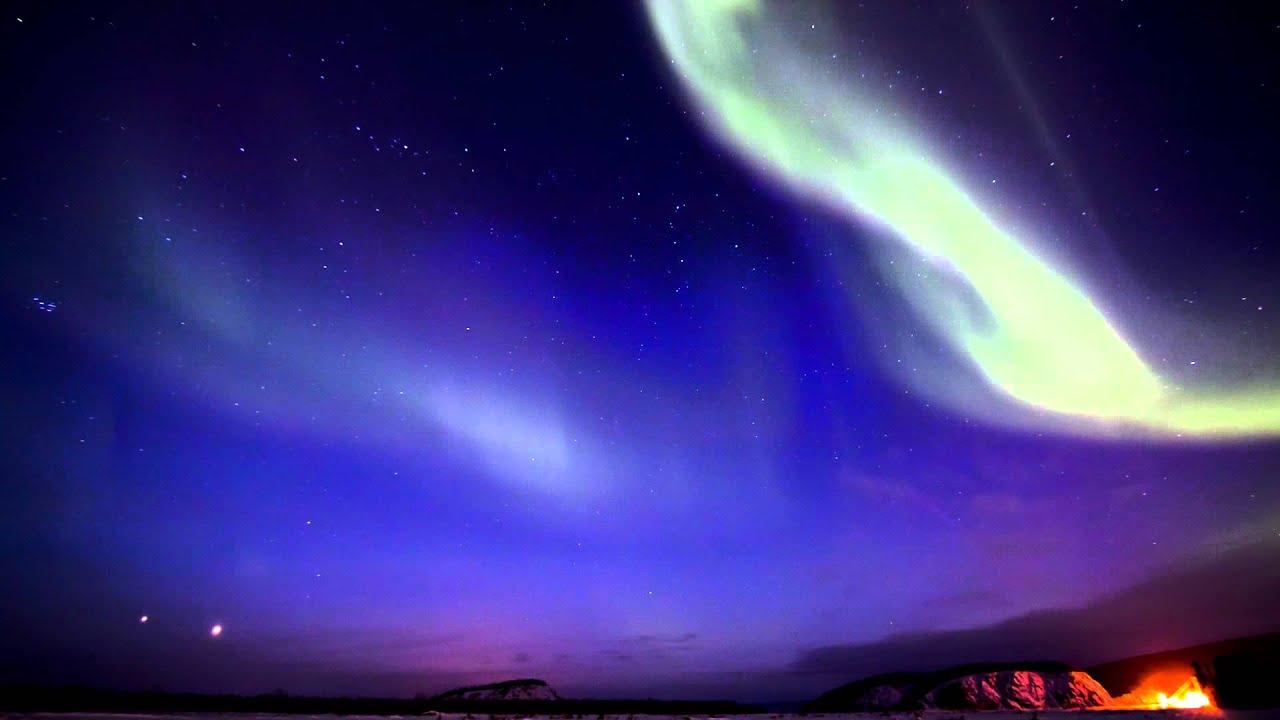 Aurora in HD - Breathtaking Northern Lights - Alaska - music by Iona