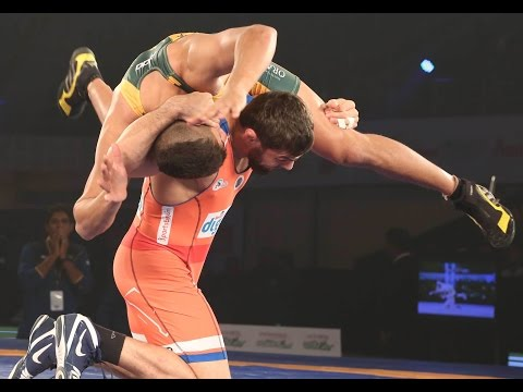 PWL 2017: Abdusalam Gadisov VS Rubaljeet Singh 14th Jan | Haryana Hammers Vs Jaipur Ninjas