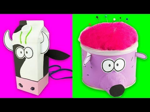5-fun-crafts-to-make-at-school-|-diy-craft-for-kids-on-box-yourself