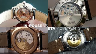 ETA vs In-house Movements | Are In-house Movements Worth It?
