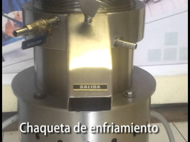 Molino Coloidal: prueba con tomate/ Colloidal Mill: tomato paste production- Vulcano