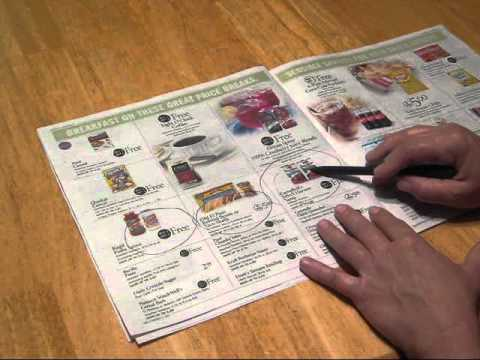 Day 30-How to Make a Shopping List from your Stores Sales Ad and the Coupon Database