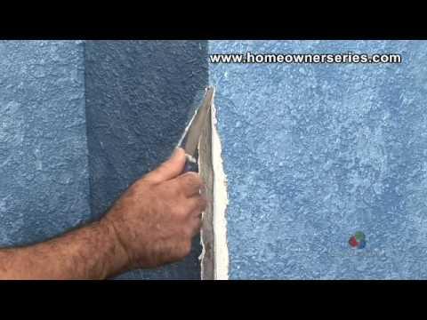 How to Fix a Wall - Repairing Corner Bead - Drywall Repair ...