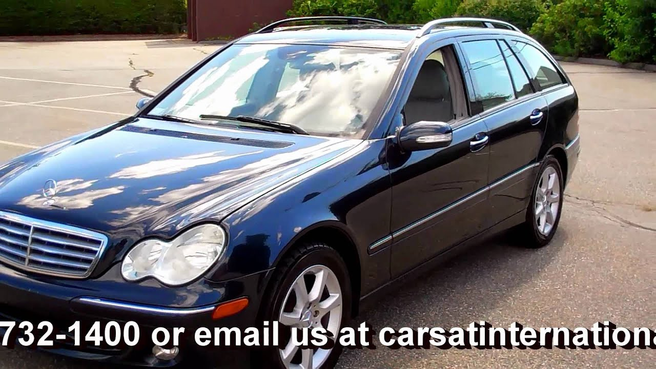 2005 mercedes benz c240 4matic awd 4 dr wagon 13 995 youtube. Black Bedroom Furniture Sets. Home Design Ideas