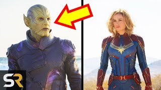 10 Secrets Marvel Revealed About Captain Marvel