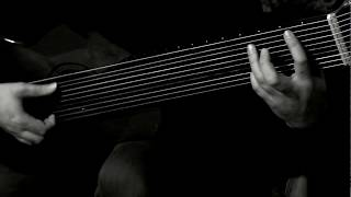 BACH, Prelude in C minor BWV 999 (Urtext), Viktor VAN NIEKERK, 10-String Guitar, classical guitar