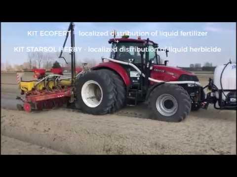 Startec - Ecofert + Starsol Herby: Distribuzione multipla di concime e diserbo liquido