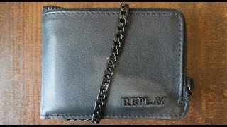 Кошелёк, Wallet Replay FM5097.000.A3117A, обзор, unboxing, распаковка