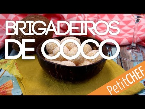 Receta de brigadeiros de coco | Petitchef