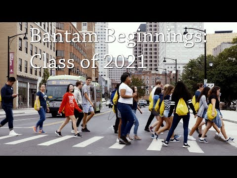 Bantam Beginnings: Class of 2021