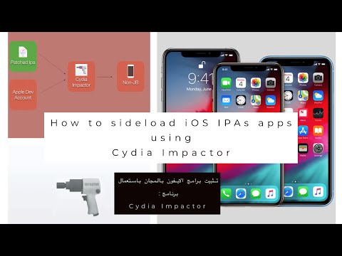 Install paid and tweaked Apps on iOS 12 using Cydia Impactor