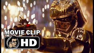 STAR WARS: THE LAST JEDI Movie Clip - Finn vs Phasma (2017) John Boyega Sci-Fi Movie HD