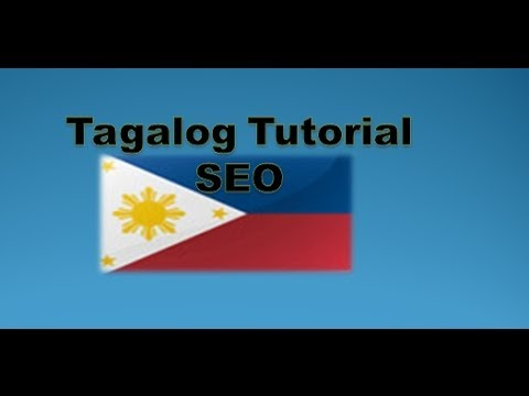 What is Search Engine Optimization SEO (Tagalog Tutorial)