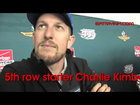 Indy 500 pre-race driver interviews (oh, and Troy Lee too)