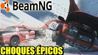 DESTRUCCIÓN TOTAL - BeamNG.DRIVE - Completando el modo CAMPAÑA | Gameplay Español