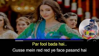 Baby Ko Bass Pasand Hai karaoke with synced lyrics