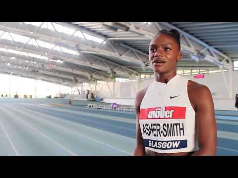 Dina Asher-Smith - Hopes for the Commonwealth Games in 2018