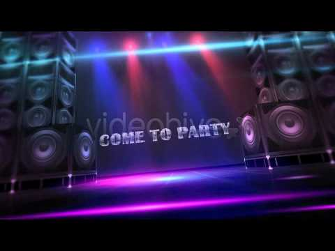 after effects template club dance party youtube