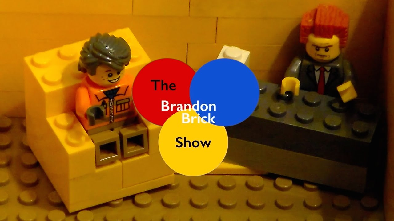 The Brandon Brick Show Episode 1 Potted Hairy Lego Stop Motion Bumperboats514
