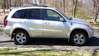 2005 Toyota RAV4 with over 200,000 miles