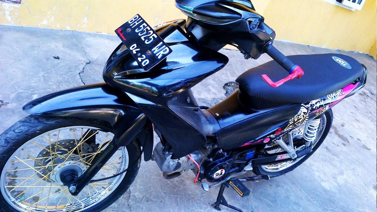 Koleksi Ide 76 Modifikasi Motor Honda Revo Absolute Terlengkap