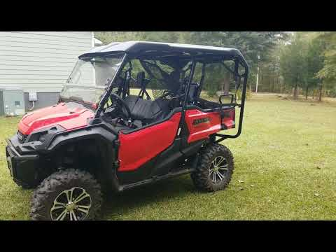 2018 Honda Pioneer 1000-5 Deluxe Review!!!
