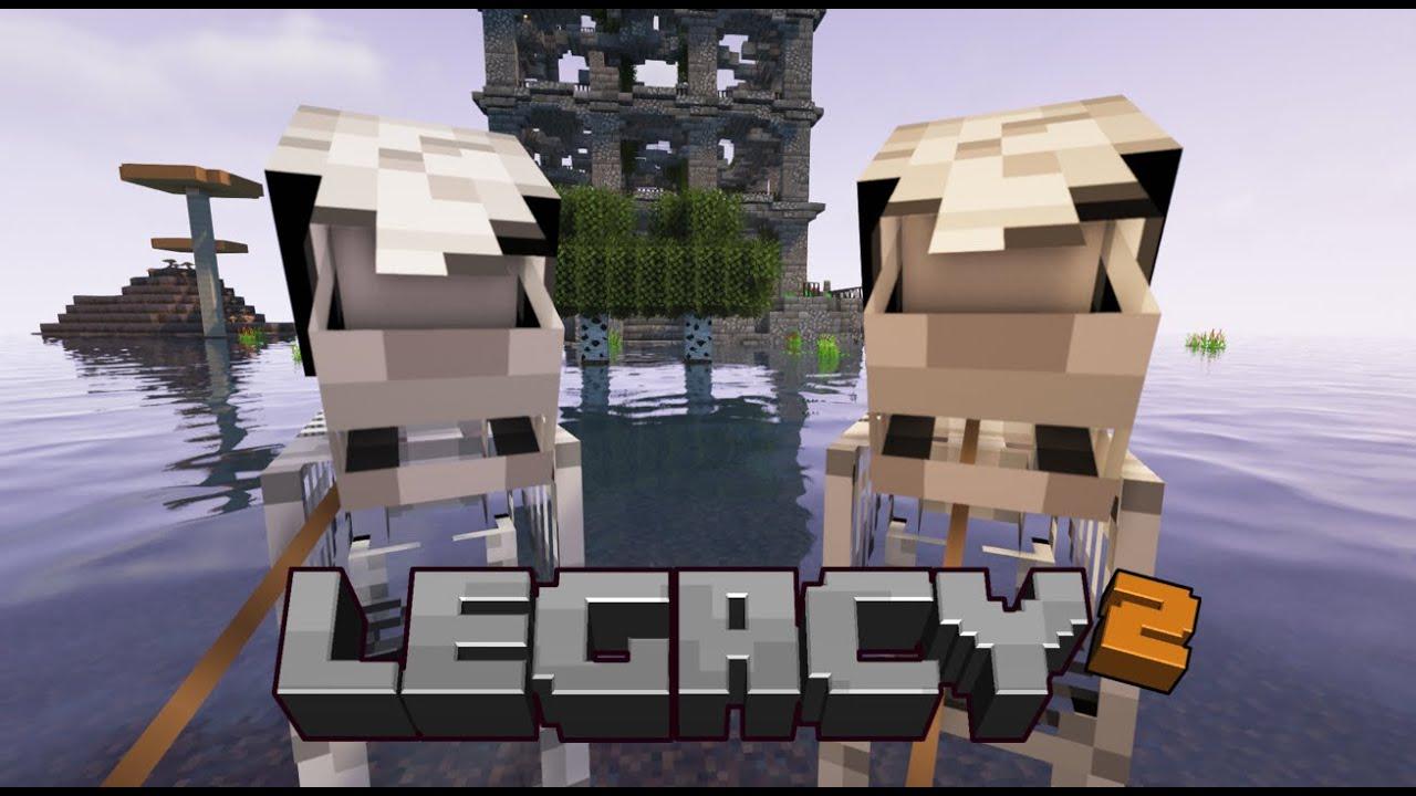 Legacy SMP Season 2: Episode 11 - How to break what you make!