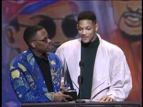 Jazzy Jeff and Will Smith Win Favorite Rap Album Award - AMA 1992