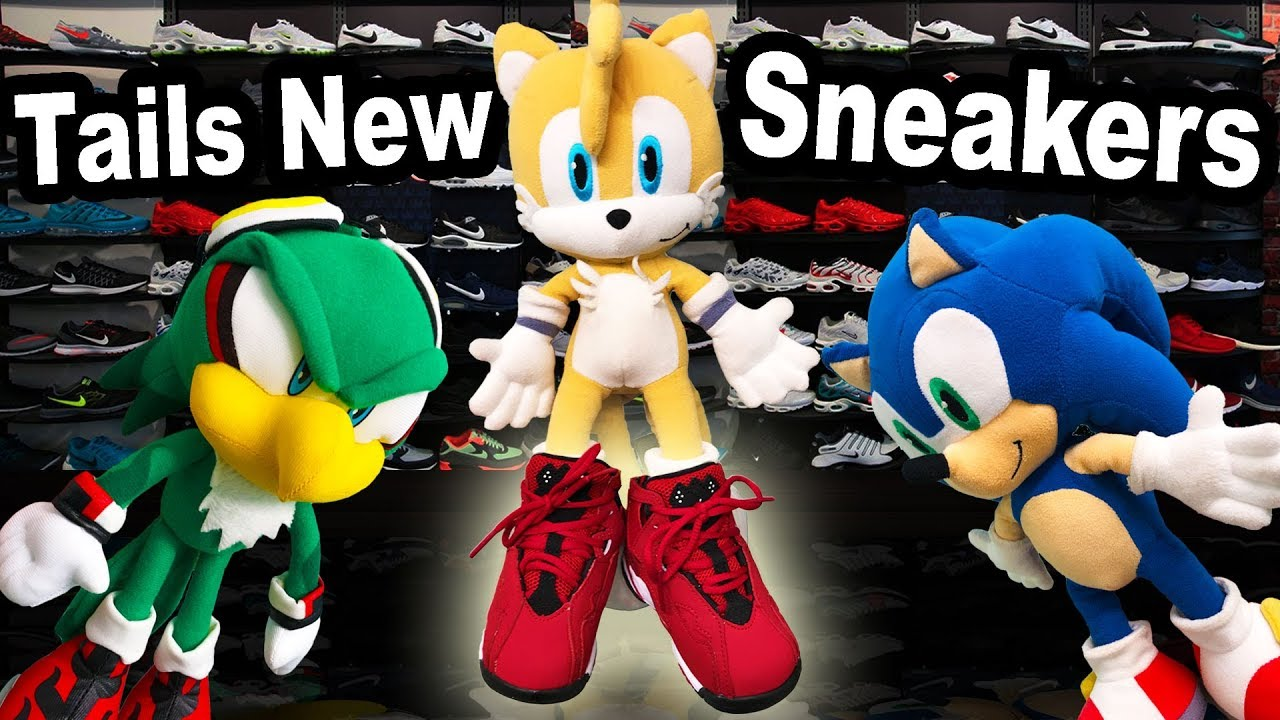 TT Movie: Tails New Sneakers