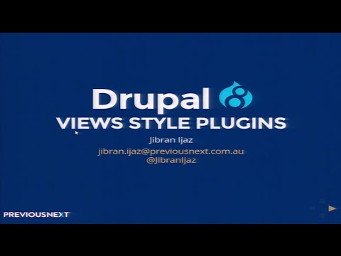 Create your own bespoke Views Style Plugins for Drupal 8