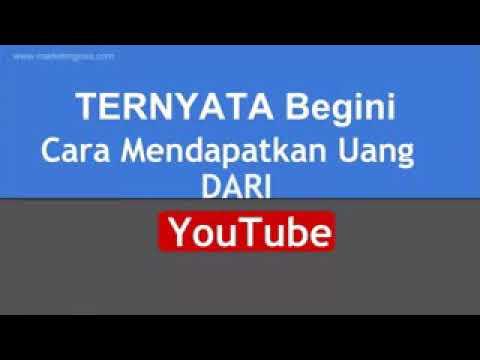MUDAH! Cara Cepat Mendapatkan Uang Di Youtube