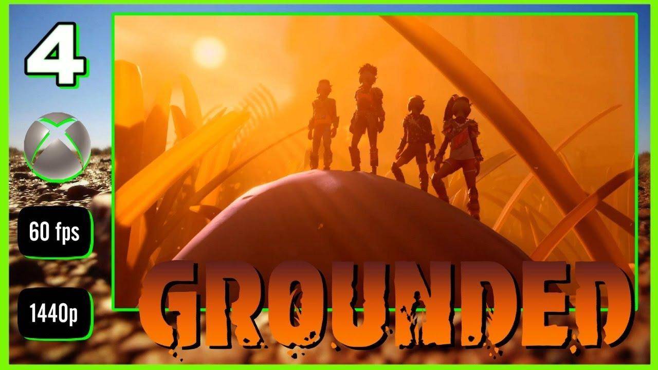GROUNDED #4 DIRECTO Gameplay Modo Difícil - Una casa segura o no [ Xbox One X 1440p ]