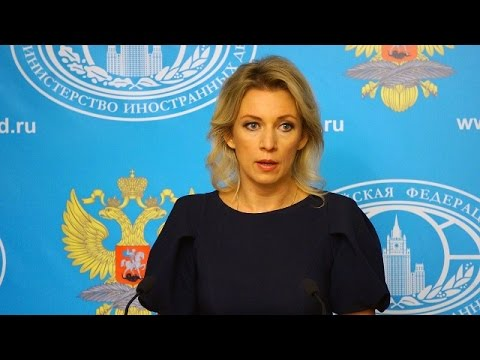 LIVE: Russian FM spokesperson Zakharova holds press briefing in Moscow - ENG