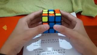 Hướng dẫn cách giải rubik 6 mặt 3x3 nhanh nhất