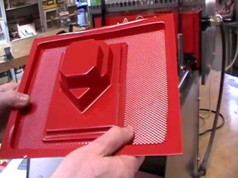 MP3 Amp Project - Vacuum Forming your box
