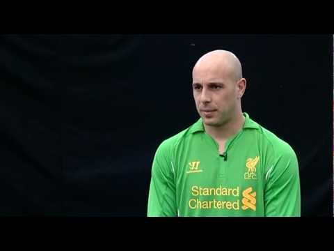 Pepe Reina on the new LFC kit
