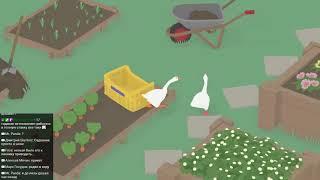 Гуси идут в гусей