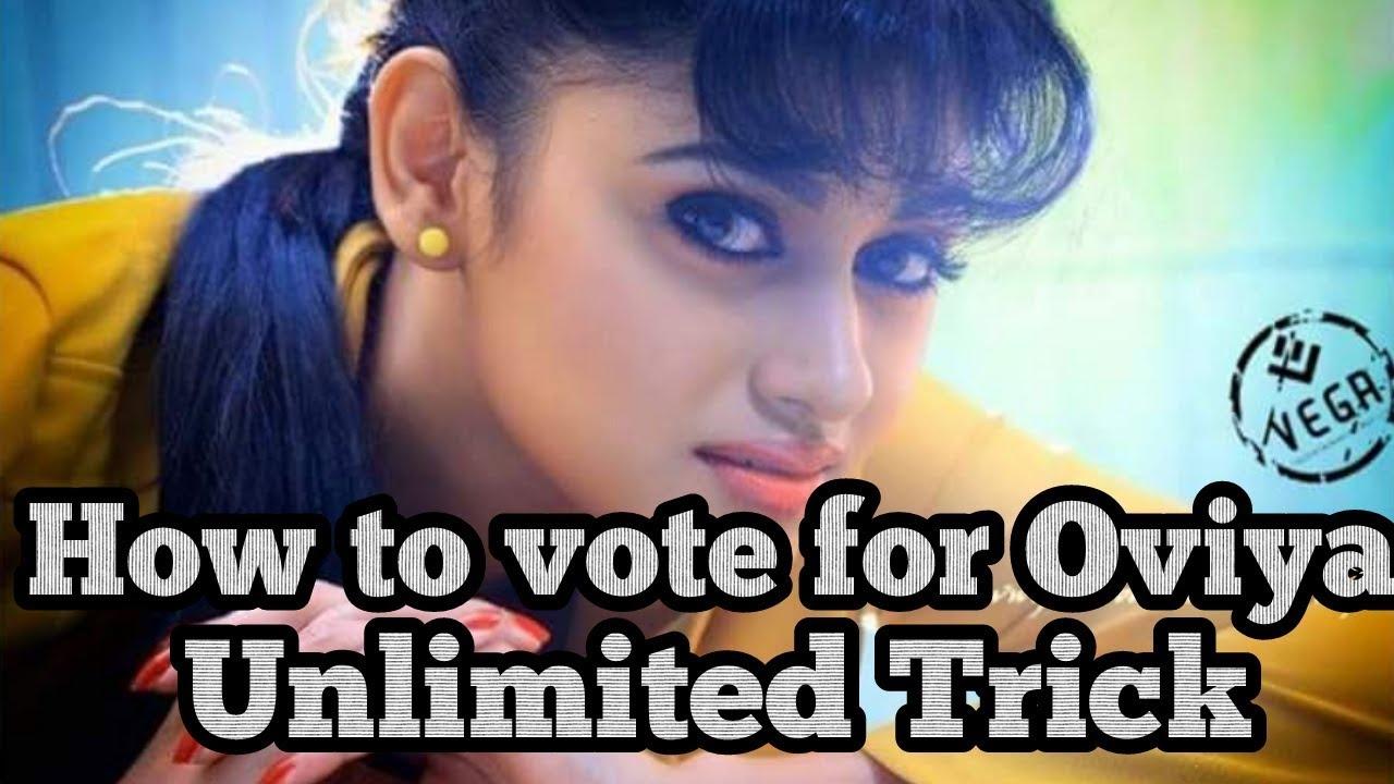 Colors website bigg boss 9 voting - How To Vote For Oviya Unlimited Votes Trick Big Boss Vote Oviya Army Save Oviya