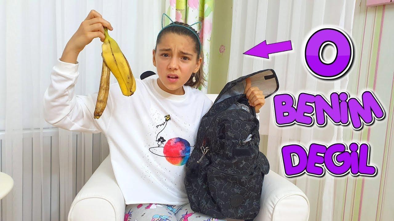 Okul Cantamda Ne Var Gorunce Cok Sasirdik Melike Elif Youtube