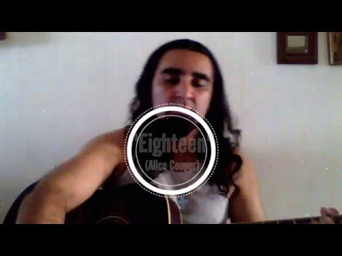"Cesar TEX Medina ""Eighteen (Alice Cooper)"""