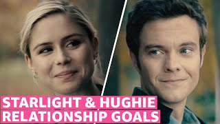 The Boys Season 2 Starlight and Hughie Cute Scenes Together  Prime Video