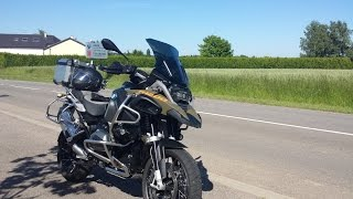 BMW R 1200 GS Adventure 2015 Shift Assistant up AND downshifting