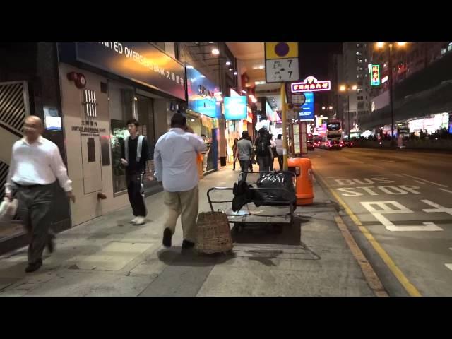 [風景] 香港街歩き 旺角~油麻地まで歩いてみた walking from Mong Kok to Yau Ma Tei