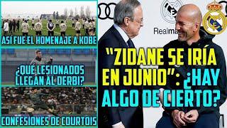 ¿ZIDANE SE IRÍA DEL MADRID? LOL | HOMENAJE DE RAMOS A KOBE BRYANT | ERIKSEN AL INTER Y CEBALLOS...
