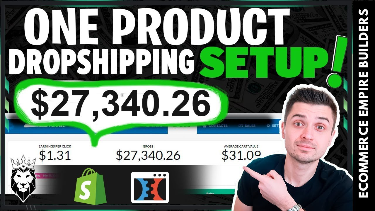 How To Build A One Product Dropshipping Store with ClickFunnels + FREE Funnel & Examples (2019)