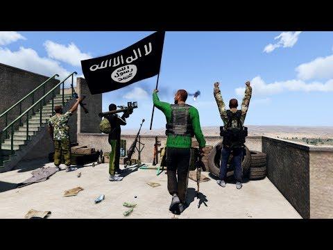 Arma 3 Movie: ISIS Attack On US Base | Convoy Ambush