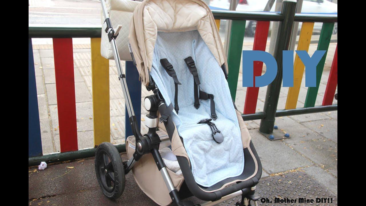 DIY Como hacer funda universal de silla de paseo para bebe - YouTube