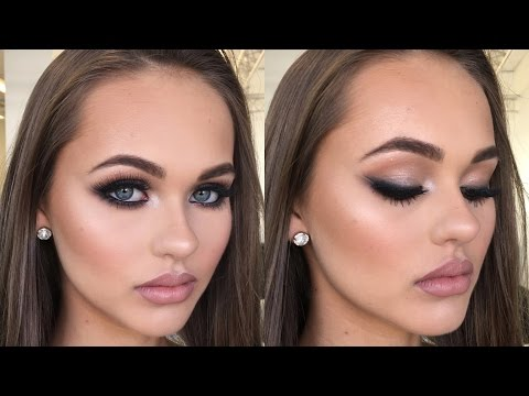 Smokey Double Winged Liner Client Makeup Tutorial ♡ Jasmine Hand