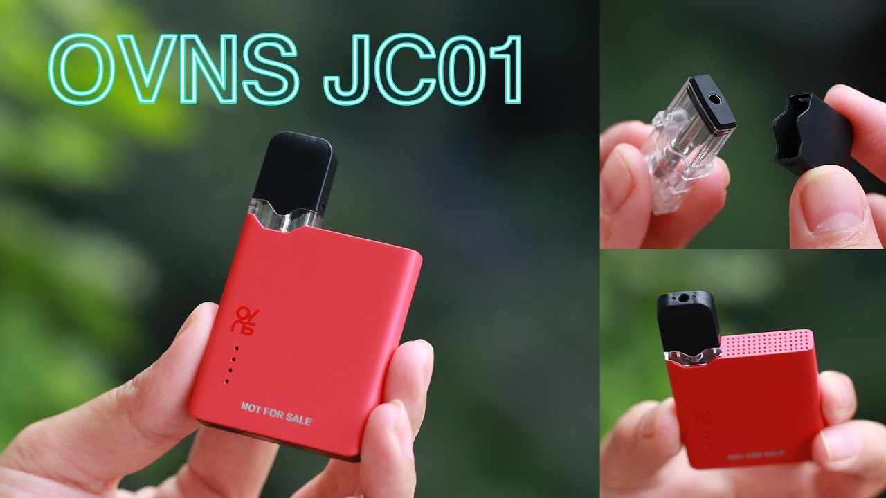 OVNS JC01 Pod Kit!! JC01 battery is compatible with JUUL Pods?!